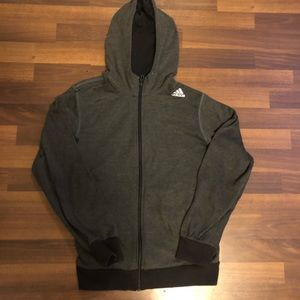 Adidas Womens zip hoodie size S